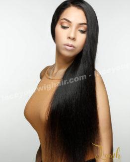 Lace wigs transparents